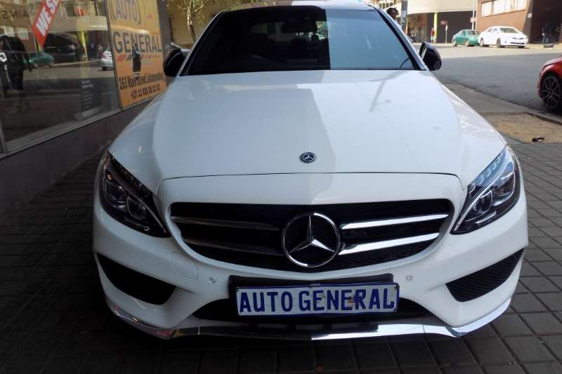 Mercedes Benz C Class C200 estate AMG Line auto 2017