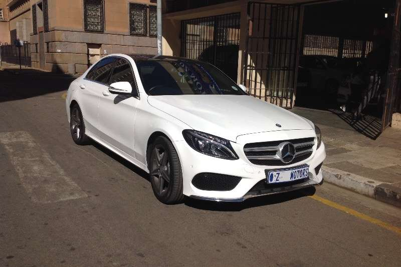 Mercedes Benz C Class C200 estate AMG Sports auto 2015