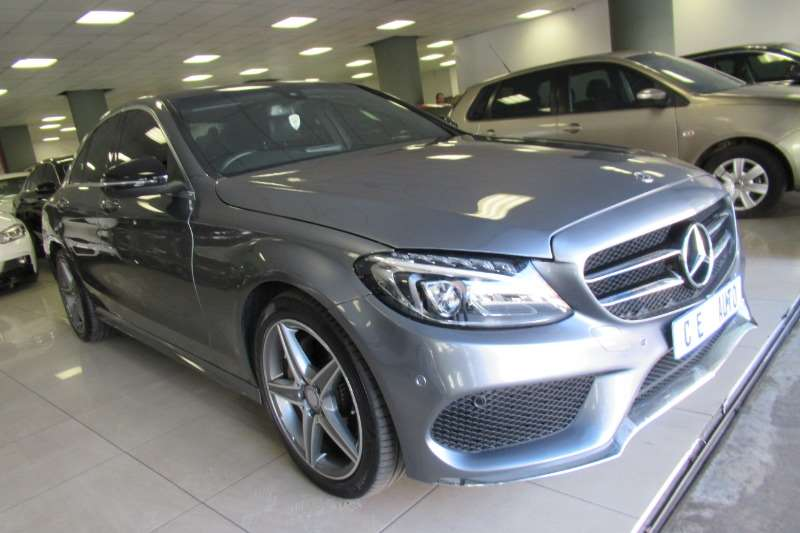 Mercedes Benz C Class C200 estate AMG Sports auto 2017