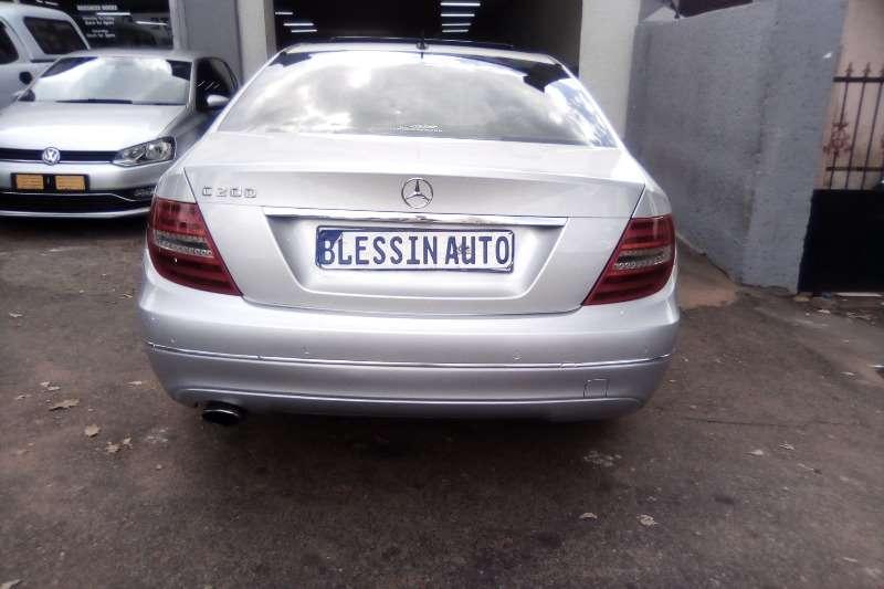 Used 2012 Mercedes Benz C Class C200 Exclusive