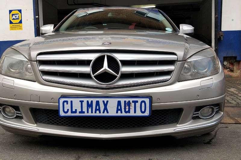 Mercedes Benz C Class C200 Kompressor Avantgarde 2008