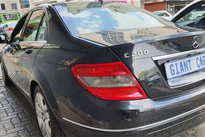 Mercedes Benz C Class C200 Kompressor Avantgarde 2009