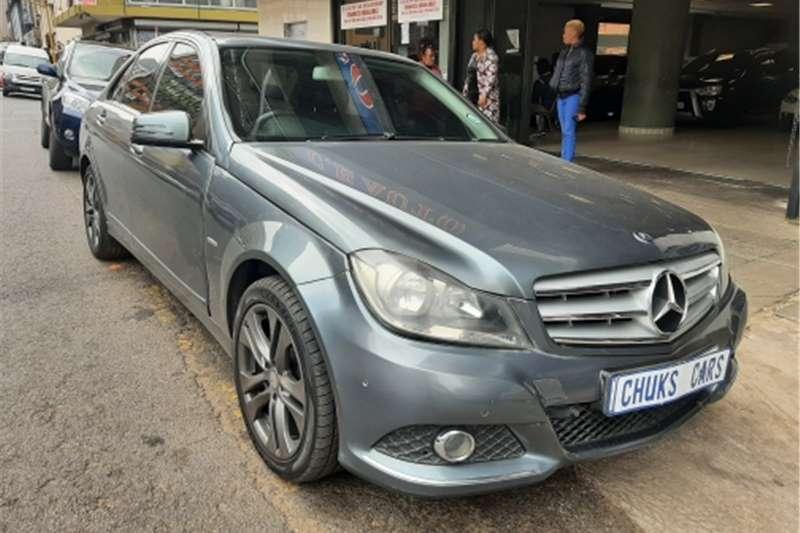 Mercedes Benz C Class C200 Kompressor Avantgarde AMG Sports Touchshift 2012