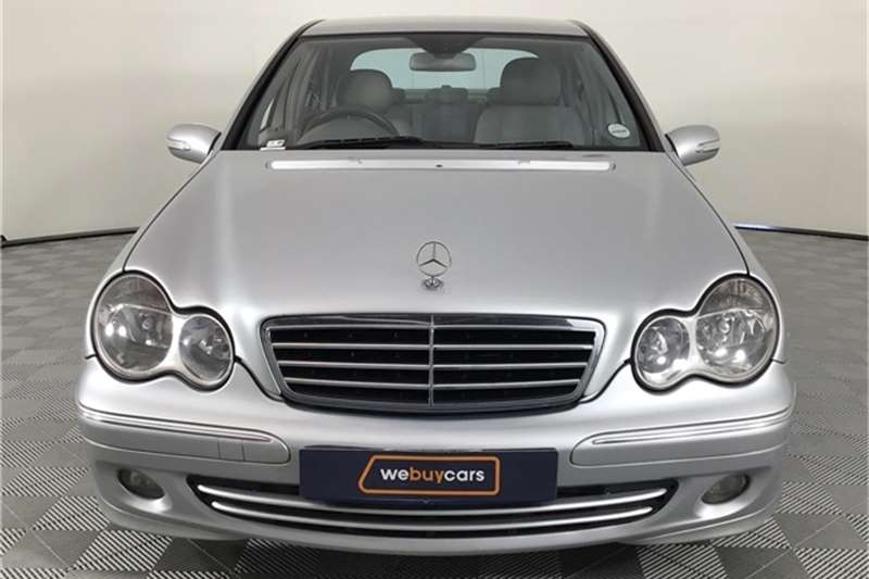 Mercedes Benz C Class C200 Kompressor Avantgarde Touchshift 2007