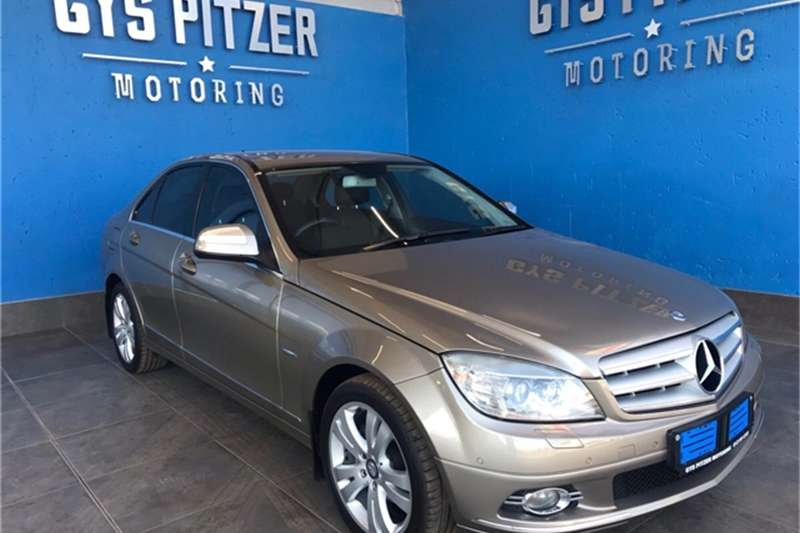 Mercedes Benz C Class C200 Kompressor Avantgarde Touchshift 2008