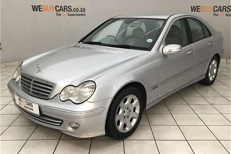 Mercedes Benz C Class C200 Kompressor Elegance Touchshift 2004