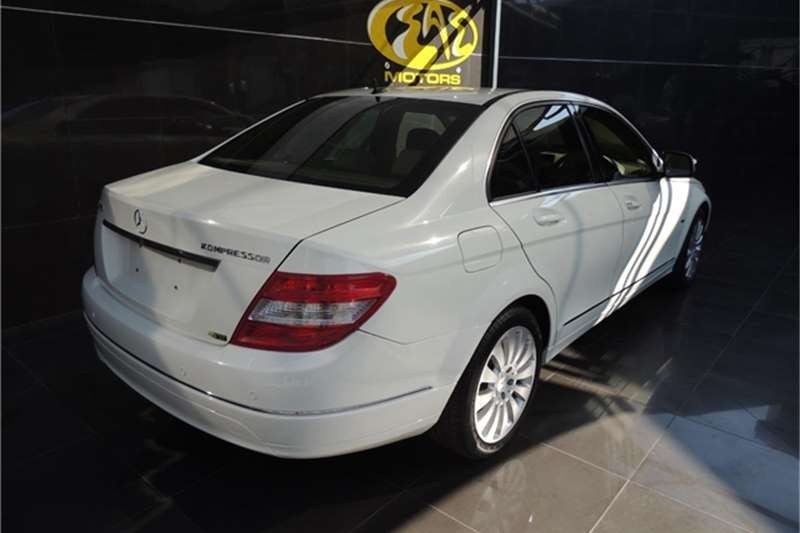 Mercedes Benz C Class C200 Kompressor Elegance Touchshift 2007