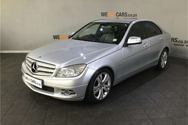 Mercedes Benz C Class C200 Kompressor Elegance Touchshift 2008