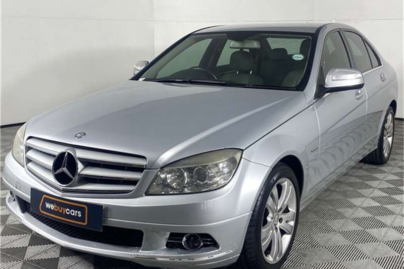 Used 2008 Mercedes Benz C Class C200 Kompressor Elegance Touchshift