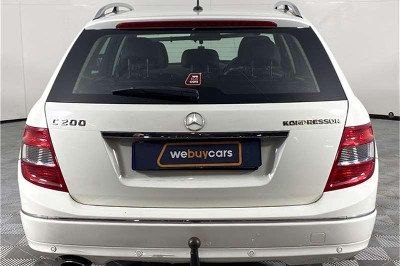 2008 Mercedes Benz C Class C200 Kompressor estate Avantgarde Touchshift