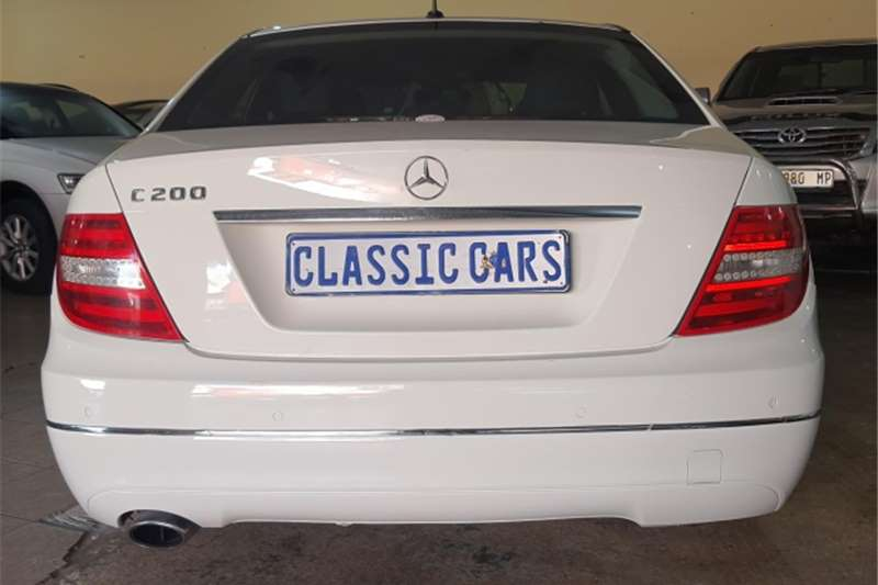Used 2012 Mercedes Benz C Class C200CGI Elegance AMG Sports Touchshift
