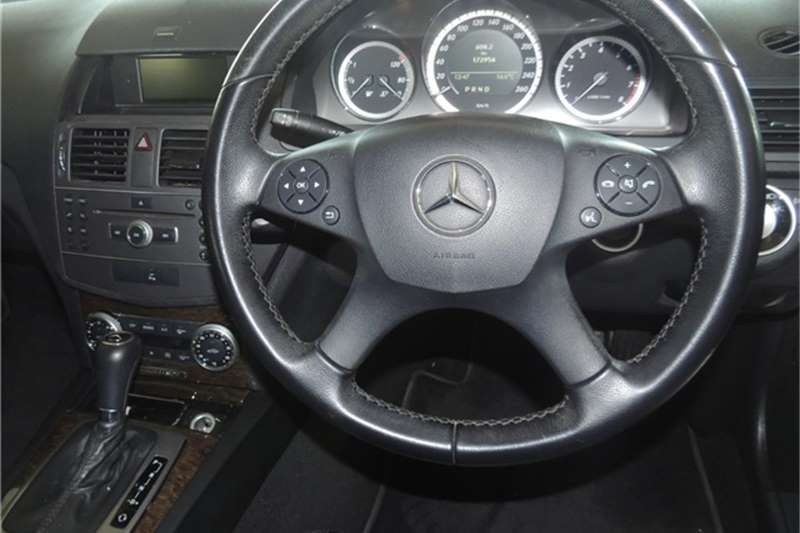 Mercedes Benz C Class C200CGI Elegance Touchshift 2011