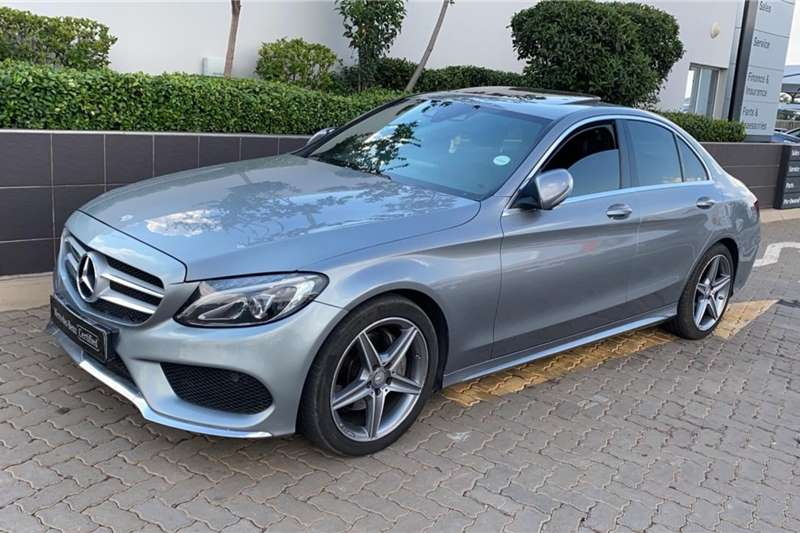 Mercedes Benz C Class C220 Bluetec AMG Sports auto 2015