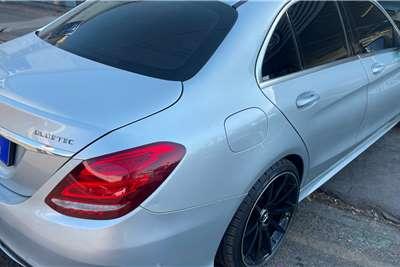 Used 2015 Mercedes Benz C Class C220 Bluetec AMG Sports auto