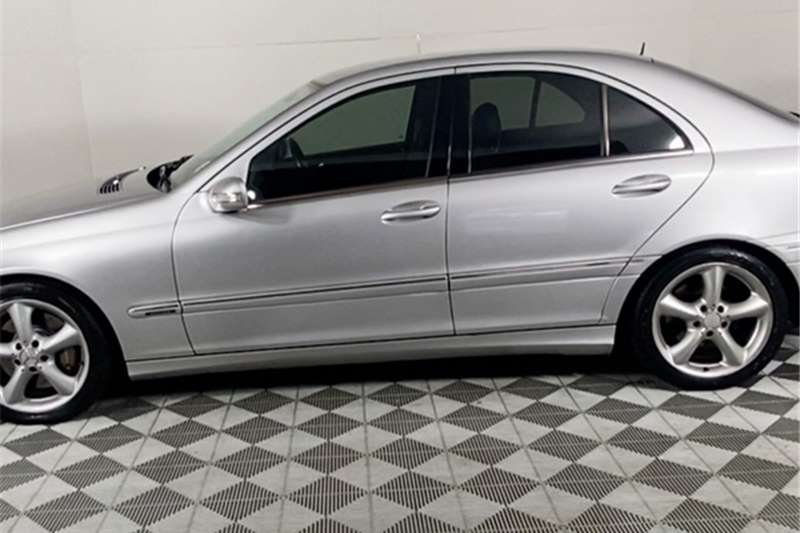 2005 Mercedes Benz C Class C220CDI Elegance Touchshift