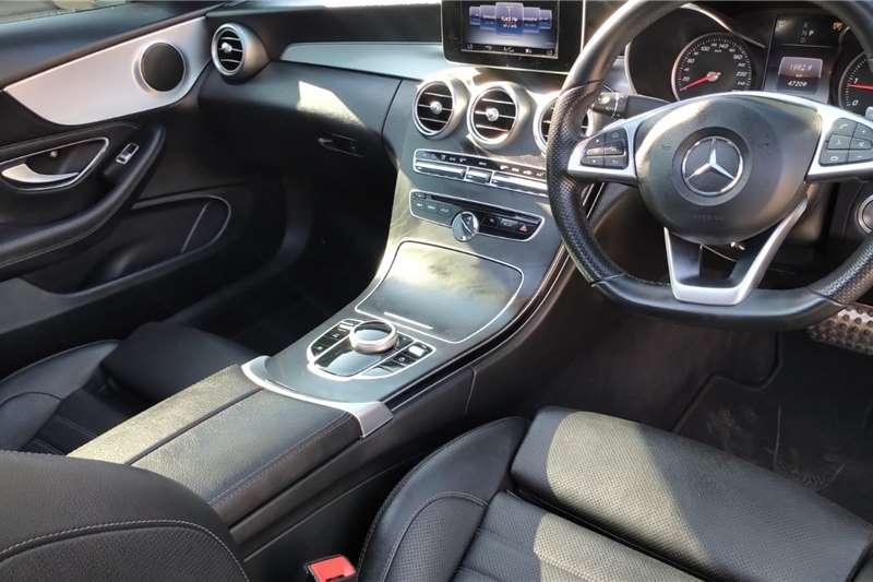 Mercedes Benz C Class C220d coupe AMG Line 2017