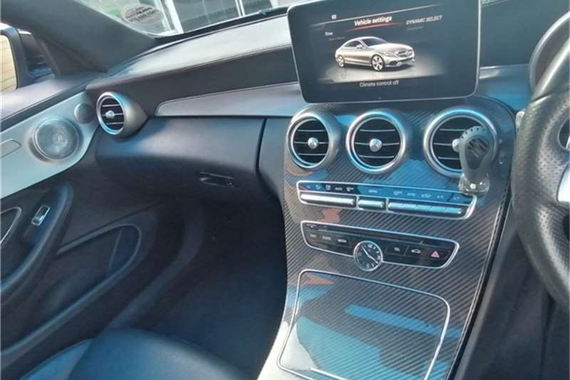 Used 2016 Mercedes Benz C Class C220d coupe auto