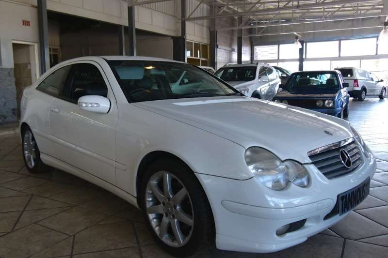 Mercedes Benz C Class C230 Kompressor Sports Coupé Evolution 2002