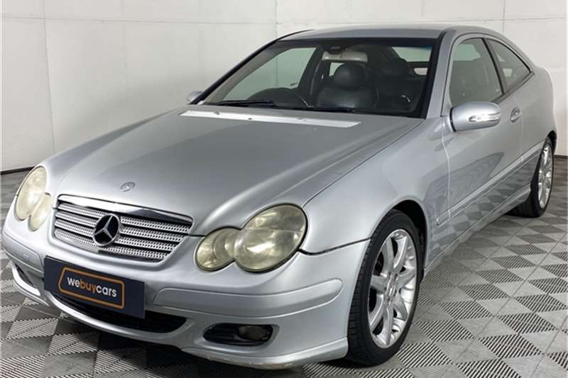 Used 2005 Mercedes Benz C Class C230 Kompressor Sports Coupé Evolution Touchshift