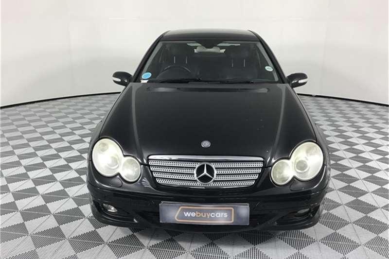Mercedes Benz C Class C230 V6 Sports Coupé Evolution 7G-Tronic 2007
