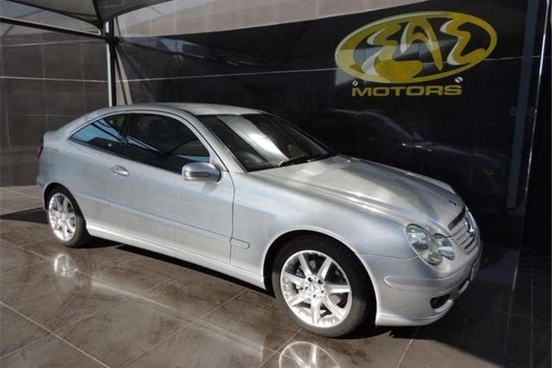 Mercedes Benz C Class C230 V6 Sports Coupe Evolution Auto 2006