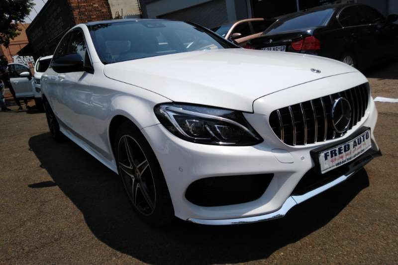Used 2018 Mercedes Benz C Class C250 AMG Line