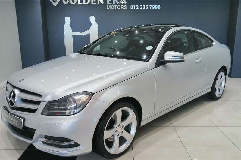 Mercedes Benz C-Class C250 CDI BE Coupe Auto 2013