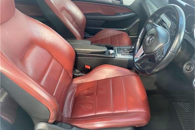 Used 2012 Mercedes Benz C Class C250 coupé