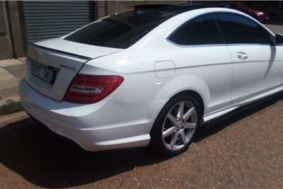 Used 2012 Mercedes Benz C Class C250 coupe