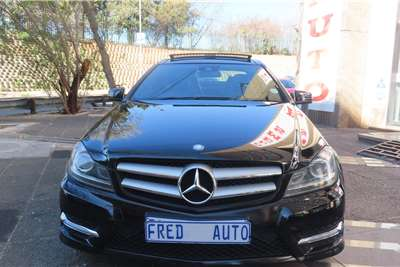 Used 2013 Mercedes Benz C Class C250 coupe