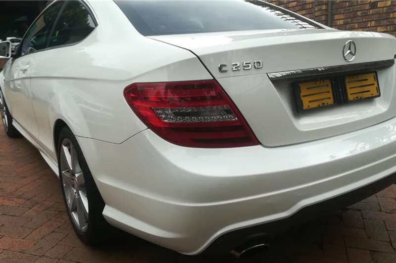 Mercedes Benz C Class C250 coupe AMG Sports 2012