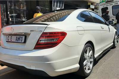 Used 2012 Mercedes Benz C Class C250 coupe AMG Sports