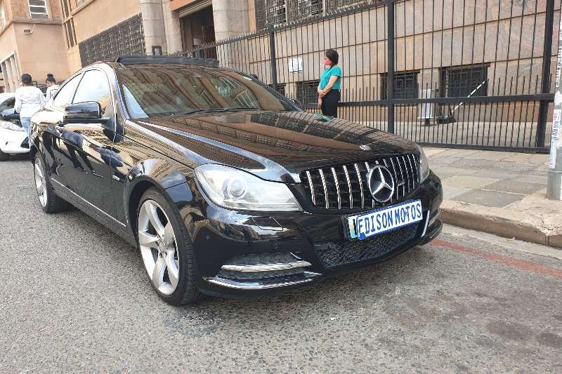 Mercedes Benz C Class C250 coupe AMG Sports 2013