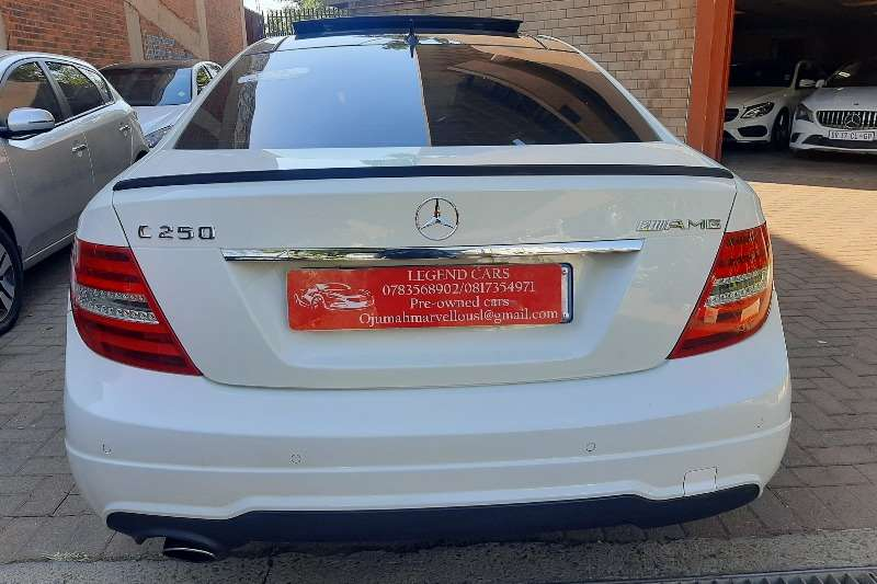 Used 2012 Mercedes Benz C-Class C250 Edition C