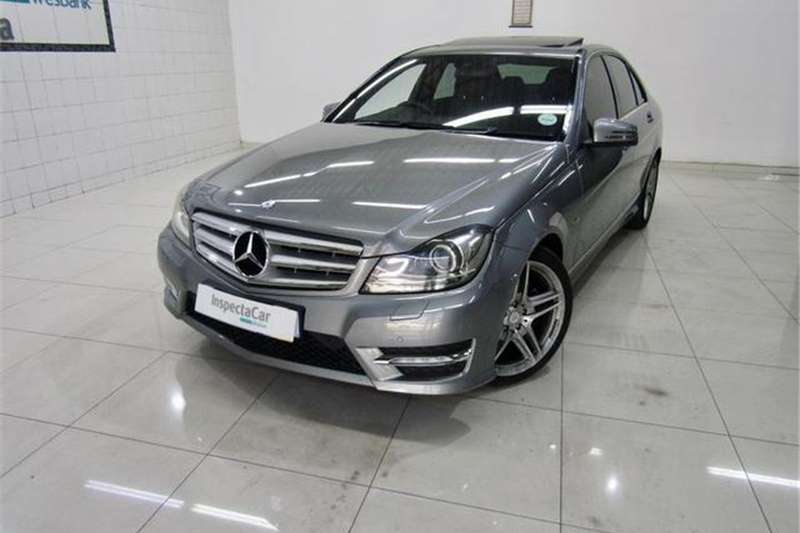 Mercedes Benz C Class C250CDI Avantgarde AMG Sports 2012