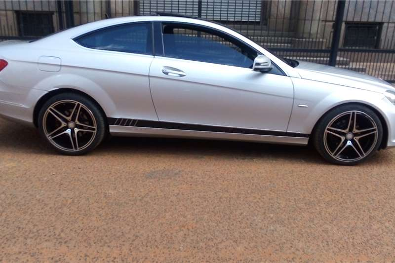 Used 2013 Mercedes Benz C Class C250CDI coupe