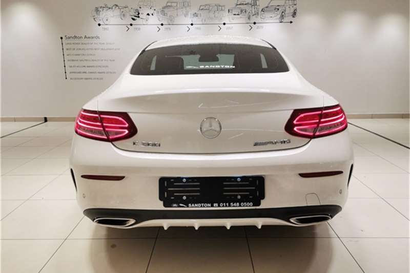 Mercedes Benz C Class C300 coupe AMG Line 2016