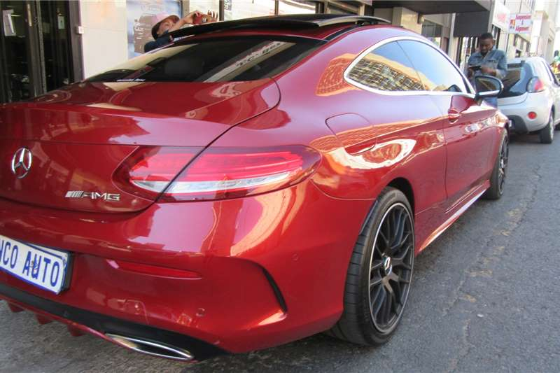 Mercedes Benz C Class C300 coupe AMG Line 2017