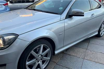 Used 2011 Mercedes Benz C Class C350 coupé AMG Sports