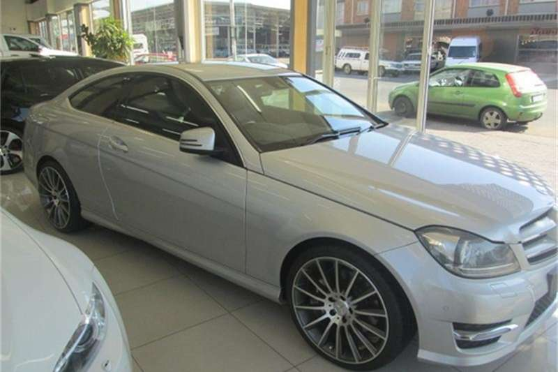 Mercedes Benz C Class C350 coupé AMG Sports 2013