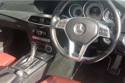 Used 2013 Mercedes Benz C Class C350 coupé AMG Sports