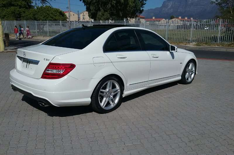 Mercedes Benz C Class C350CDI Avantgarde AMG Sports 2012