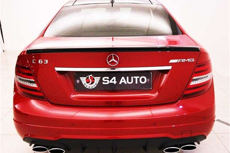 Mercedes Benz C Class C63 Amg Coup 233 For Sale In Gauteng