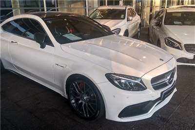Mercedes Benz C Class C63 AMG coupe 2016