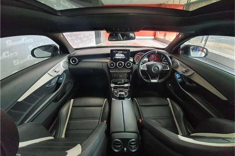 Mercedes Benz C Class C63 S coupe 2017