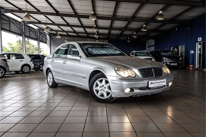 Used 2002 Mercedes Benz C Class