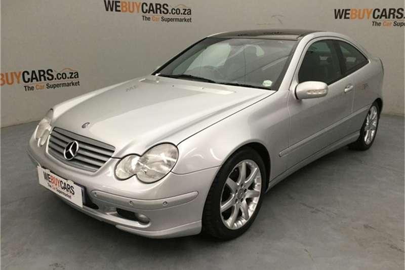 Mercedes Benz C-Class Coupe 2001