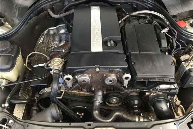 Mercedes Benz C-Class coupe 2003