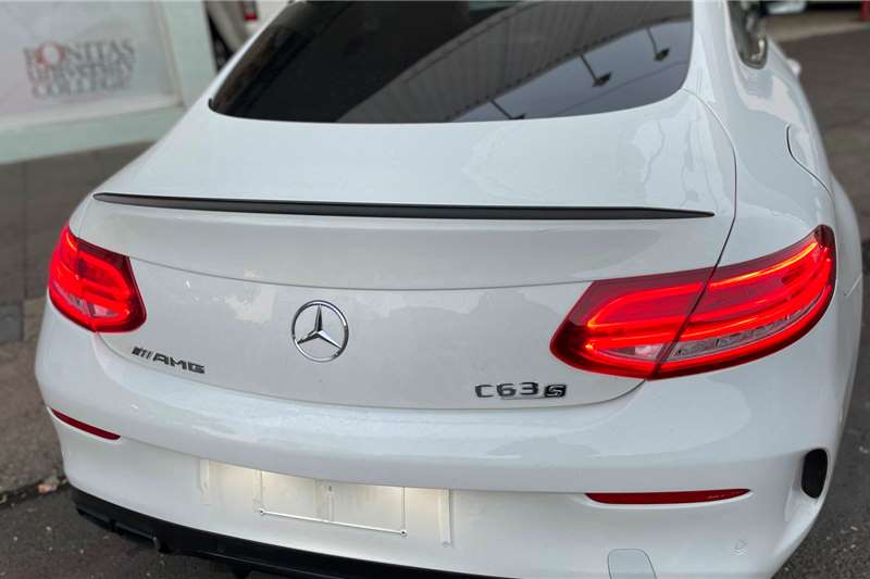 Used 2017 Mercedes Benz C-Class Coupe AMG COUPE C63 S