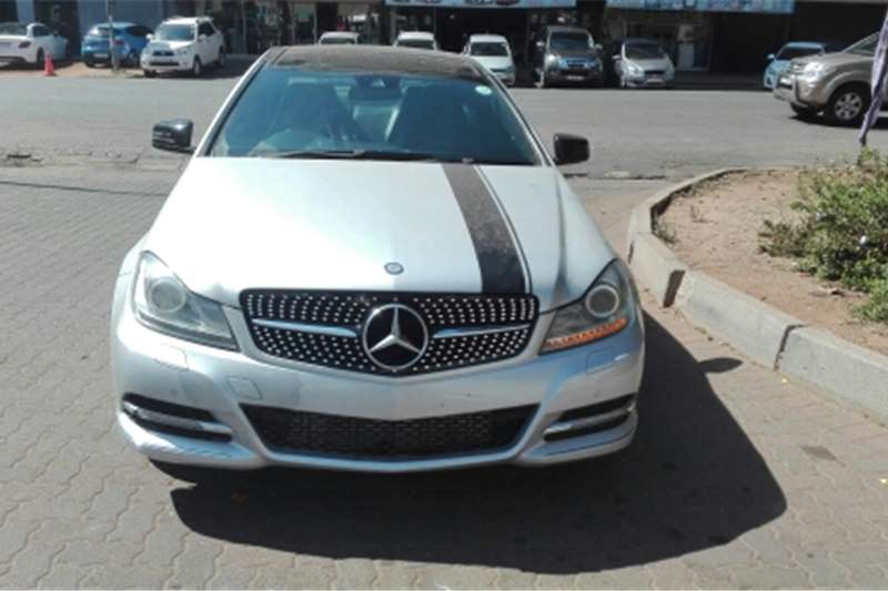 Used 2013 Mercedes Benz C-Class Coupe